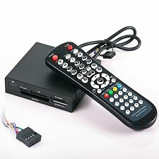 """Internal Memory Card 3.5"""" All in one Reader/Writer w/ Computer IR remote control"""