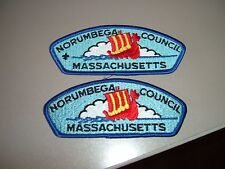 BSA 2 Norumbega Boy Scout Council CSP's - 1 with and 1 without FDL