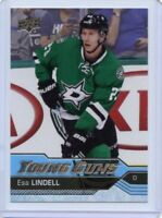 16/17 UPPER DECK YOUNG GUNS ROOKIE RC #237 ESA LINDELL STARS *59592