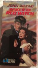 "VHS VIDEO MOVIE ""WAKE OF THE RED WITCH"" DEEP SEA DIVING HELMETS JOHN WAYNE"