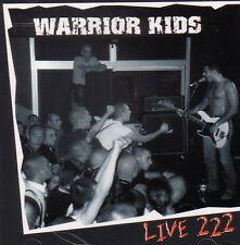 Warrior Kids – Live 222 CD Oi! punk