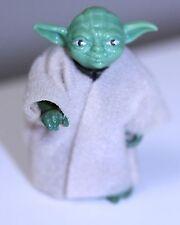 Vintage Star Wars Yoda Action Figure PAC Man Eyes Kenner 1980 w/robe