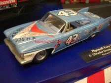 Carrera digital 132 30525 Plymouth Fury 1960 Richard Petty nº 43 rar atacar