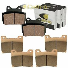 FRONT and REAR BRAKE PADS Fits YAMAHA FZR400 FZ600 1986-1989