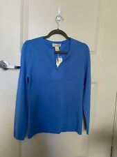 peck and peck cashmere sweater size S