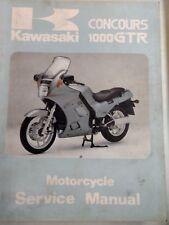 Kawasaki Concours 1000 GTR USED Service Manual 99924-1065-01