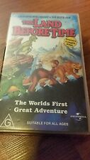 THE LAND BEFORE TIME -  VHS VIDEO