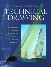 Technical Drawing (11th Edition) Giesecke, Frederick Ernest Hardcover