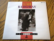 "STAN RIDGWAY - THE BIG HEAT   7"" VINYL PS"
