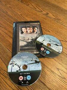 PEARL HARBOUR 2 DISC DVD - BEN AFFLECK