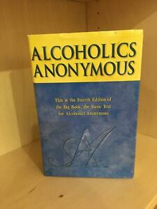 AA Alcoholics Anonymous BIG BOOK (2001, Hardcover) FOURTH EDITION Brand New