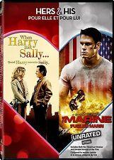 NEW 2DVD SET -  WHEN HARRY MET SALLY + THE MARINE -  BILLY CRYSTAL, JOHN CHEN,