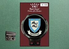 Royale Classic Car Badge & Bar Clip BRIGHTON Mod B1.1049