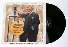 ESZ6163 MAJOR BOWES Amateur Hour Original Radio Broadcasts Vinyl Record Mark 56
