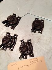Wl 3 4 Matching Cast-Iron Cleaned Antique Window Locks Sold Separately