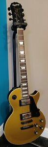Epiphone Les Paul Standard Guitar Gold Top *MODIFIED* (Please read description)