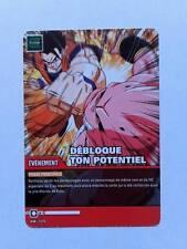 Carte Dragon ball Z Débloque Ton Potentiel DB-709