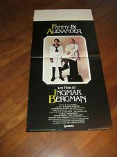 LOCANDINA,Fanny e Alexander Ingmar Bergman 1982