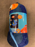Finding Dory Nemo Disney Pixar Soft Plush Throw Blanket NEW