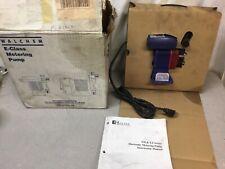 New Walchem Ezb10d1 Pe Metering Pump 06 Gph Max 150 Psi Max 115vac