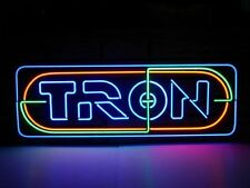 "New Tron Recognizer Man Cave Neon Light Sign 17""x6"""