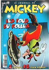 LE JOURNAL DE MICKEY n°2341 ¤ 1997 ¤ LES FOUS DU ROLLER