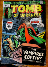 """TOMB OF DARKNESS #12 [1975 NM-] """"THE VAMPIRE'S COFFIN!"""""""