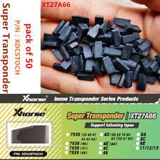 50 X VVDI Super Chip XT27A01 XT27A66 Transponder for VVDI2 VVDI Mini Key Tool