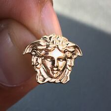 Versace Medusa Earrings 18k Gold Plated Silver