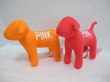 NEW Victoria's Secret PINK Bright Coral/Orange Mini Dog 2-pc Set FRE SHIP