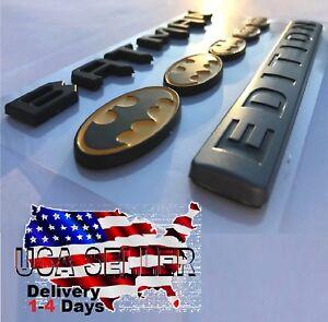💰 BATMAN FAMILY EDITION HIGH QUALITY Emblem Trunk 3D car TRUCK logo DECAL SIGN