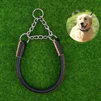 1PC PU Leather Effective Safe Creative Dog Collar Martingale Collar Pet Products