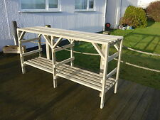Wooden Greenhouse Staging - Very Solid - 5ft - 2 Tier