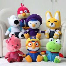 7PC/Set Pororo's Racing Adventure Pororo Penguin Friends Plush Toy Stuffed Gift