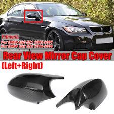 Carbon Fiber Mirror Cap Cover For BMW 3 Series E90 E91 E92 E93 Pre-LCI 2005-2007