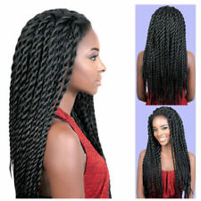 24inch Synthetic Lace Front Wigs Straight Twist Box Braiding Wig For Black Women