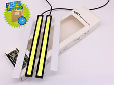 Car DRL COB LED Daytime Running Light Bulbs Fog Driving Lamp Waterproof 17CM 12V