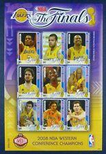 Grenada 2008 BASKET NBA SPORT 6060-6068 post FRESCHI MNH