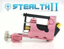 STEALTH 2.0 SET Aluminum Rotary Tattoo Machine Liner Shader Supply Ink (PINK)