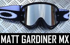 PLATA Lentes Espejo Para Oakley O Gafas de motocross O-Frame 2000 ARRANCAR