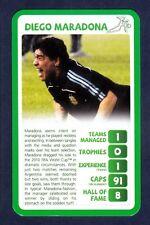 Sudadera Trumps-Sa 2010-ARGENTINA-RACING Club-Diego Maradona