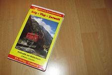 Brig Visp Zermatt - Krokodile am Matterhorn, VHS Video Farbfilm, top Zustand