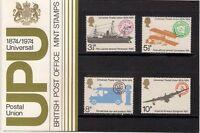 GB 1974 Universal Postal Union UPU Presentation Pack 64 Ship Aerial Post