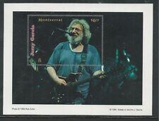 MONTSERRAT # 982-983 MNH JERRY GARCIA, Souvenir Sheets