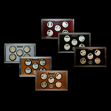 2010 2011 2012  America the Beautiful National Parks Silver & Clad Proof Sets