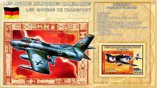 WWII Focke-Wulf Fw-190 / Republic F-84 Thunderstreak Aircraft Stamp Sheet