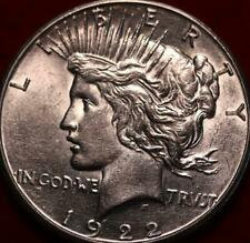 Uncirculated 1922-S San Francisco Mint Silver Peace Dollar