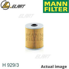 Filter,operating hydraulics for SCANIA,NEOPLAN 4 - series MANN-FILTER H 929/3