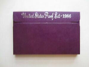 1986 U S Mint Proof Set