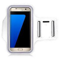 Accessorio Custodia Cover Fascia Da Braccio bianco per Serie Samsung Galaxy